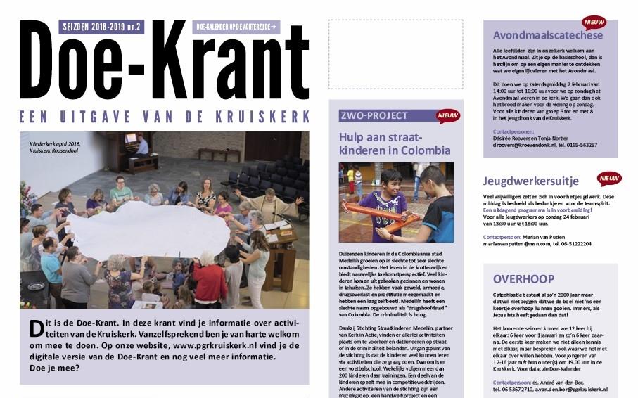2e editie van Doe-Krant is uit!