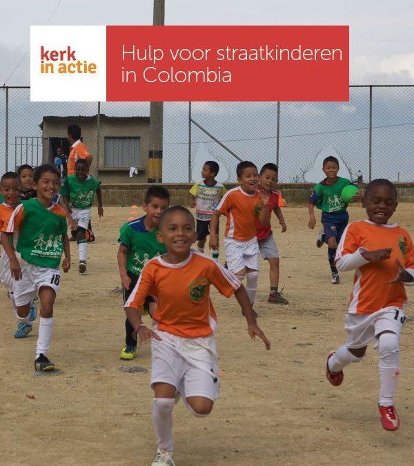 Jaarproject 'Hulp voor straatkinderen Colombia'