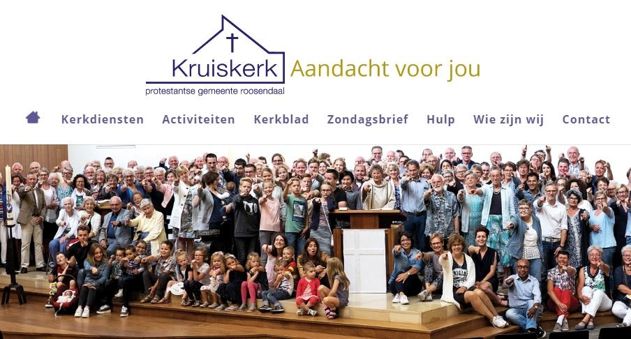 Nieuwe website PGR Kruiskerk online!