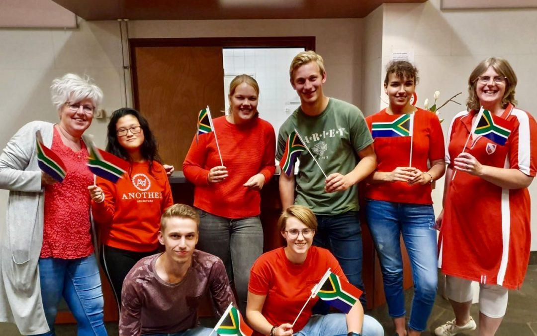 Update jongerenreis Zuid-Afrika