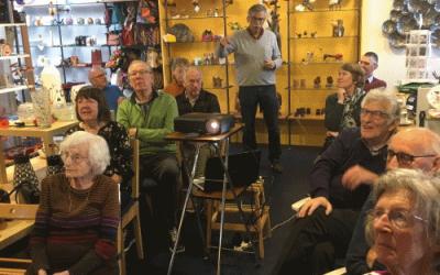 Koffiemorgen 50+ bezoek aan een Wereldwinkel