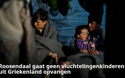 Roosendaal vangt geen vluchtelingenkinderen uit Griekenland op