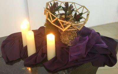Liturgische bloemschikking – zondag 20 december