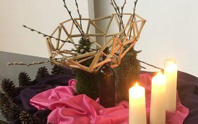 Liturgische bloemschikking – zondag 13 december