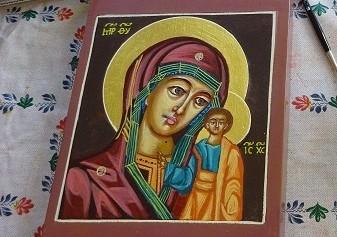 Cursus: Iconen schilderen – start vrijdag 15 oktober