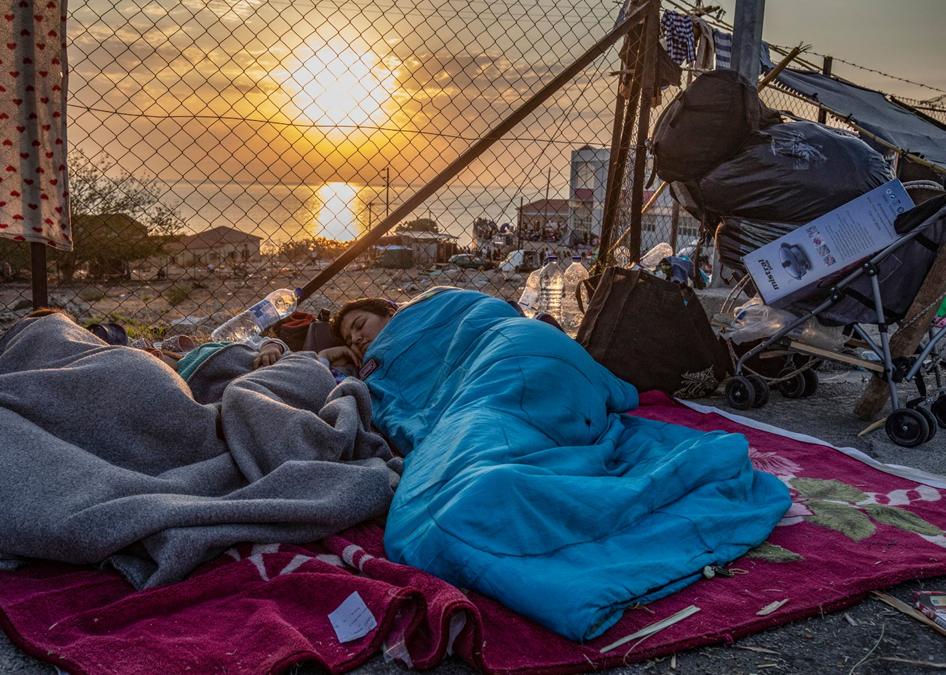 Jaarproject 2021-2022: Opvang voor gestrande vluchtelingen in Griekenland
